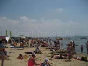 Пляж в Витязево фото