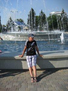 Анапа фонтаны в Центральном парке