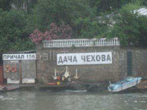 Крым Дача Чехова