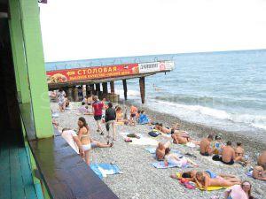 Лазаревское пляж