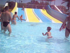 Детская горка в аквапарке Анапы